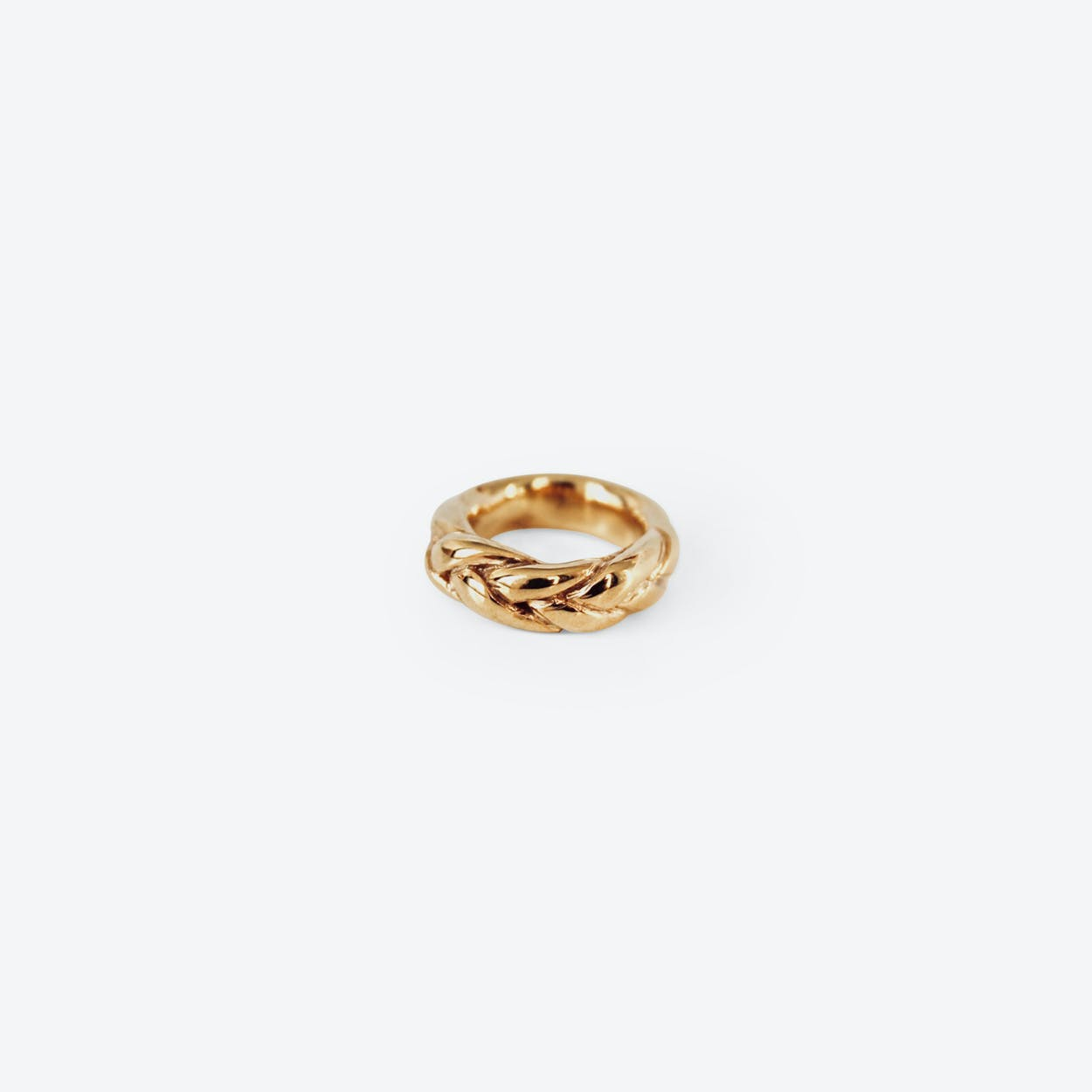 Braided Ring in Gold