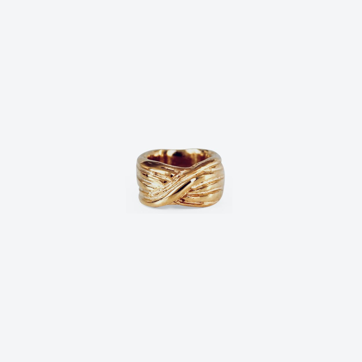 Merci Gold Ring