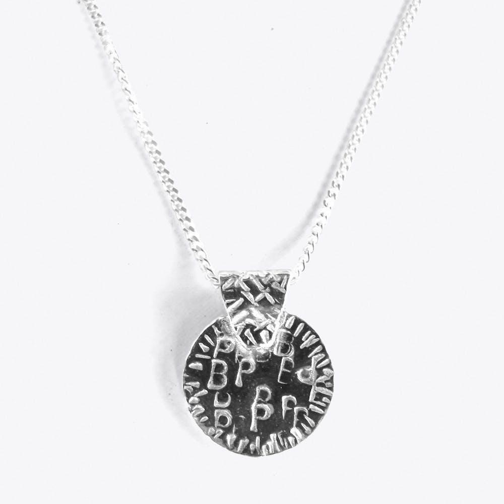 Token Necklace in Silver