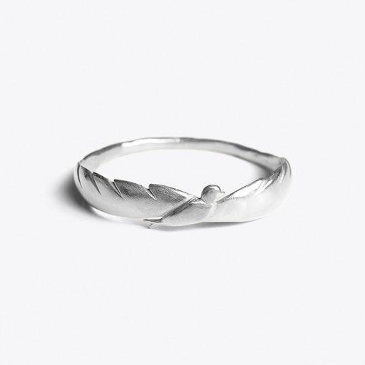 Bird Bracelet in Silver