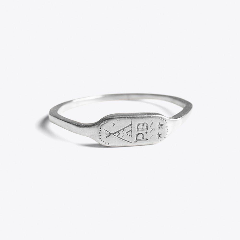 Camp Bracelet in Silver