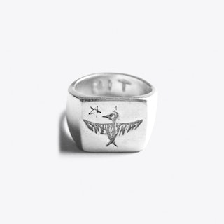 Bird Ring in Sterling Silver