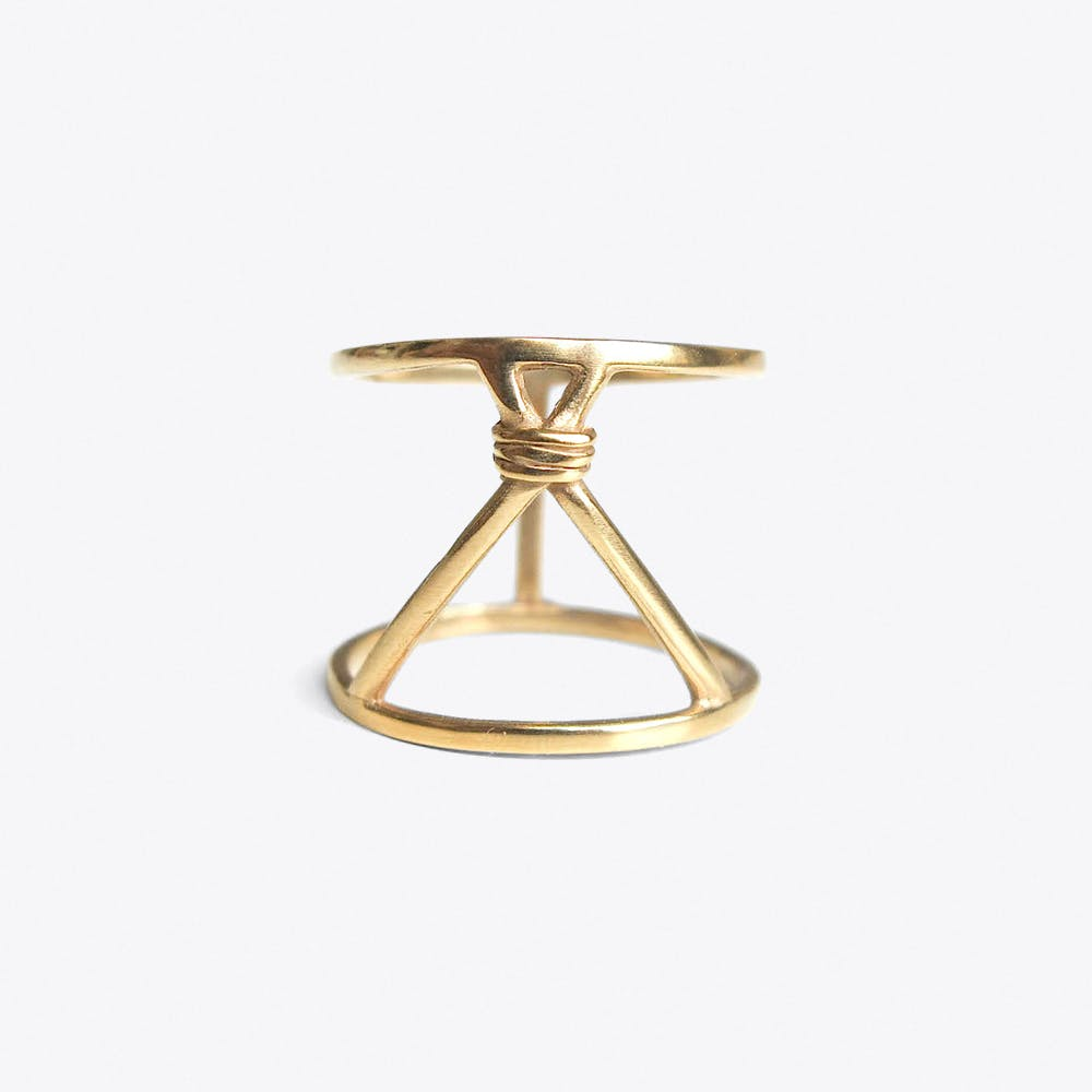 Tipi Ring in Gold