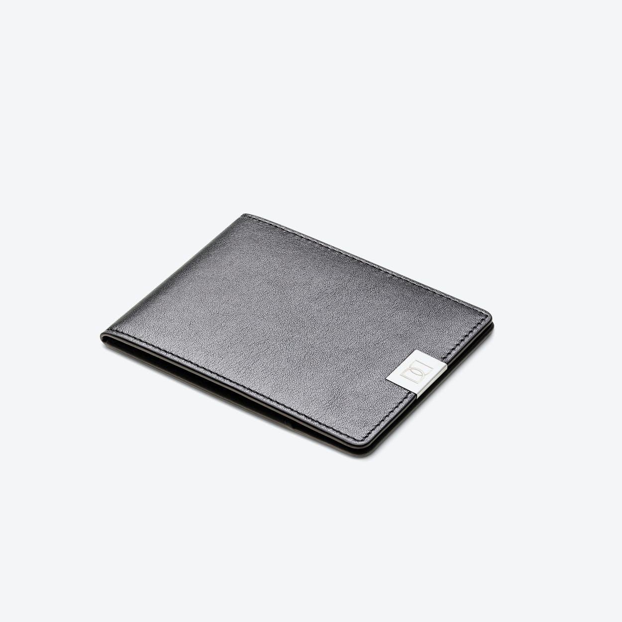 DUN // Black Silver Wallet