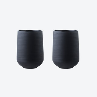 Extra Black Tumbler (Set of 2)