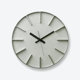 EDGE Wall Clock / Aluminium