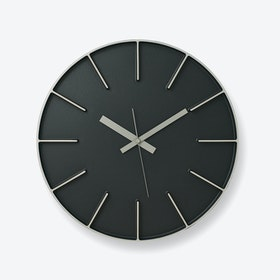EDGE Wall Clock / Black