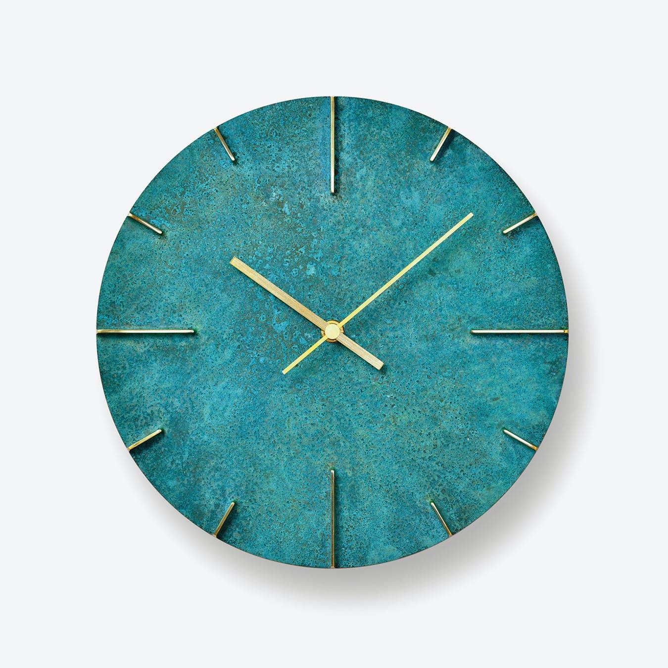 QUAINT Wall Clock / Green