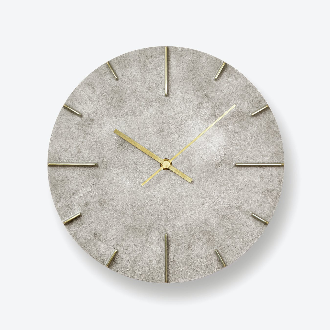 QUAINT Wall Clock / Silver