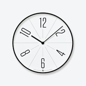 GUGU Wall Clock / Black