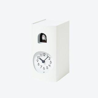 BOCKOO Cuckoo Clock / White