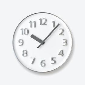 FOUNDER Clock / White