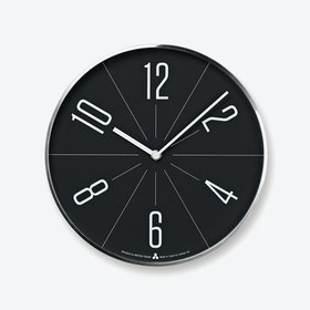 GUGU Wall Clock / Silver