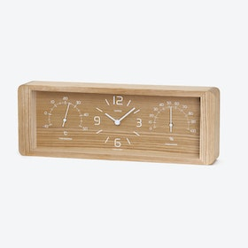 YOKAN Table Clock / Natural