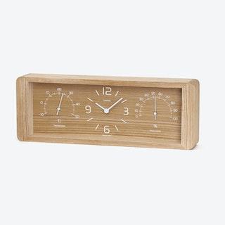 YOKAN Table Clock / Natural