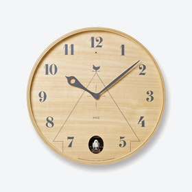 PACE Cuckoo Clock / Natural