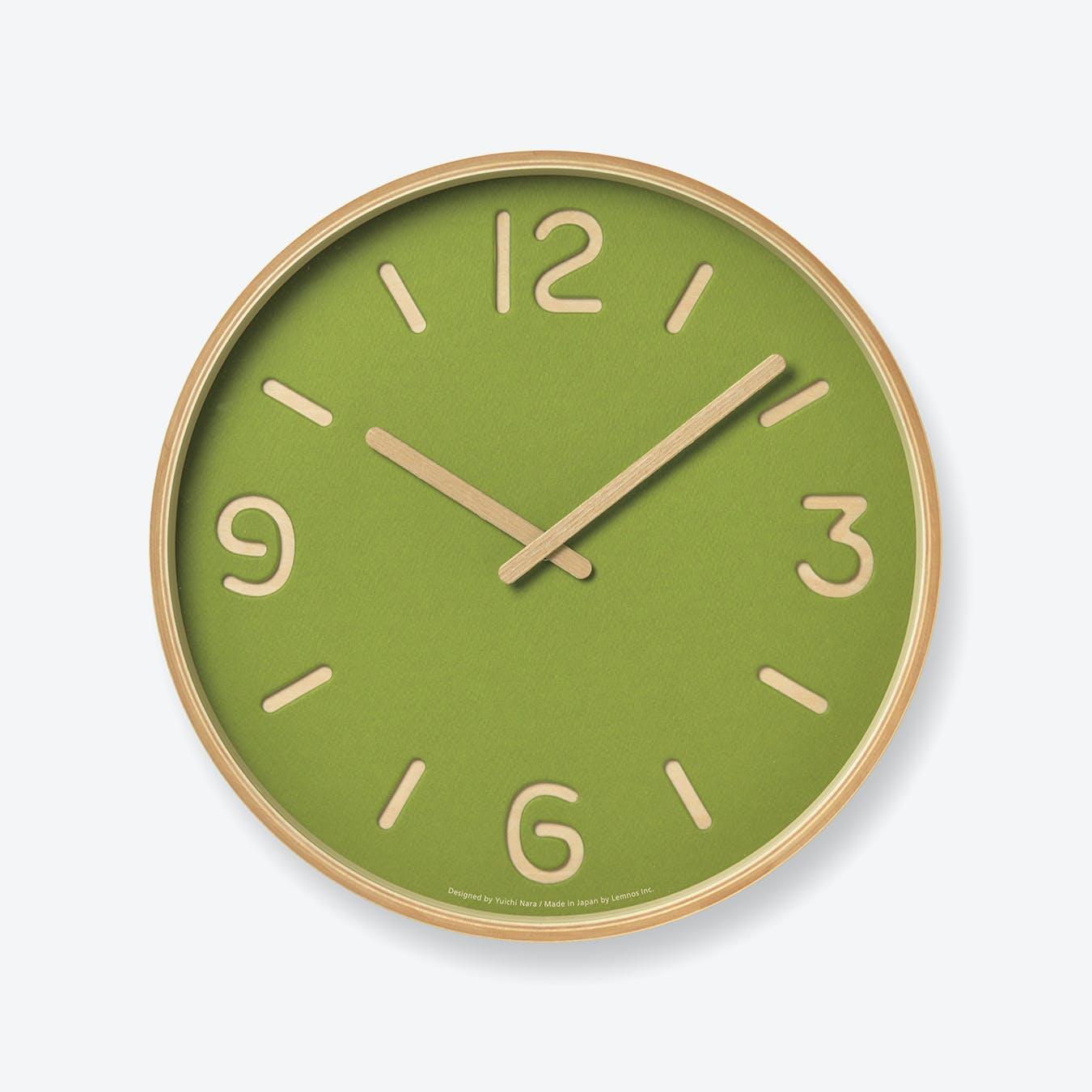 THOMSON PAPER Wall Clock / Green