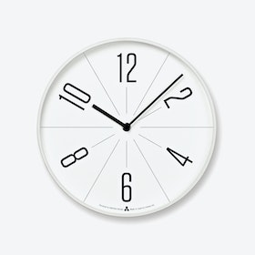 GUGU Wall Clock / White