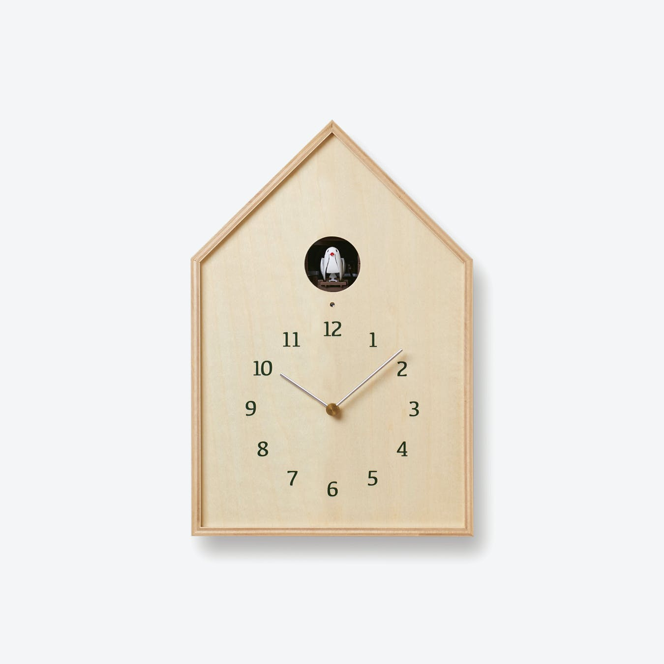 BIRDHOUSE Cuckoo Clock / Natural