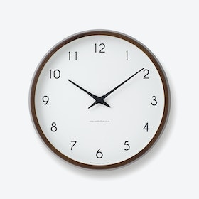 CAMPAGNE Wall Clock / Brown