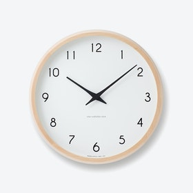 CAMPAGNE Wall Clock / Natural