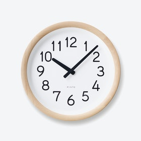 DAY TO DAY Wall Clock / Natural