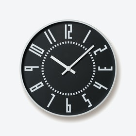 EKI Wall Clock / Black
