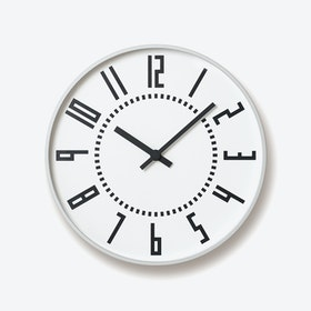 EKI Wall Clock / White