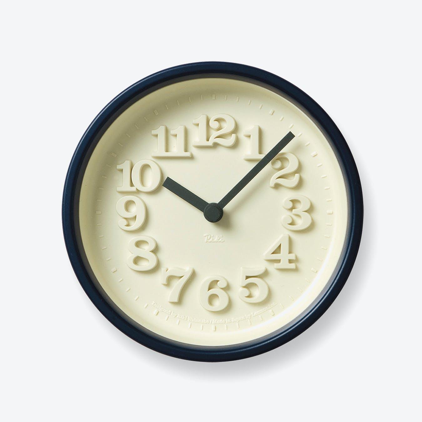 CHIISANA TOKEI Wall Clock / Blue