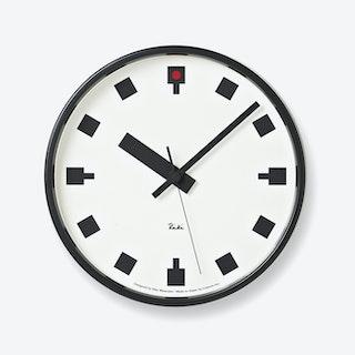 HIBAYA Wall Clock / Thick