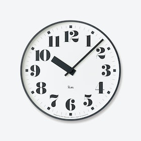 PUBLIC Wall Clock / Number