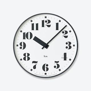 PUBLIC Wall Clock / Number