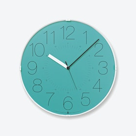 CARA Wall Clock / Blue