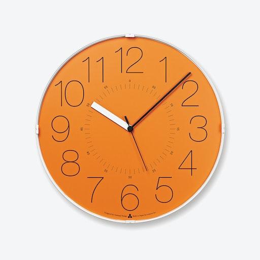 CARA Wall Clock / Orange