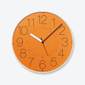 CARA Wall Clock / Orange
