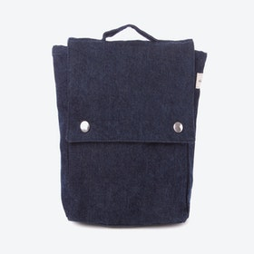 Minimes Toddler Backpack in Raw Denim