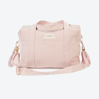 Darcy Diaper Bag in Mineral Pink