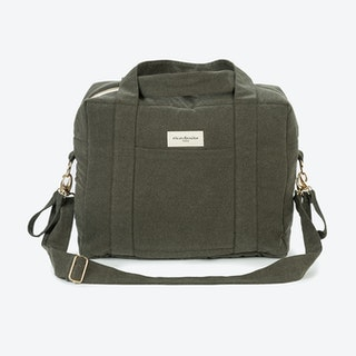 Darcy Diaper Bag in Military Green