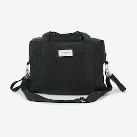 Darcy Diaper Bag in Black