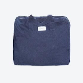 Elzevir Weekend Bag in Raw Denim