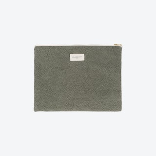 Barbette Pouch in Military Green