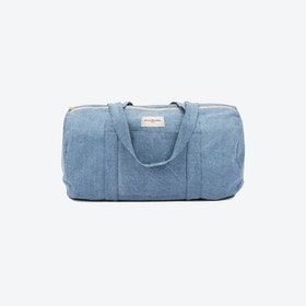 Charlot Duffle Bag in Raw Denim