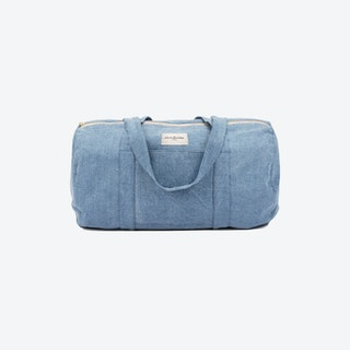 Charlot Duffle Bag in Raw Denim