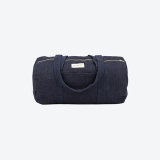 Charlot Duffle Bag in Stone Washed Denim