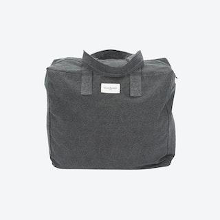 Elzevir Weekend Bag in Slate Grey