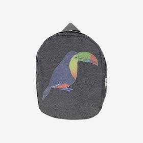 Hardy Backpack in Grey Toucan
