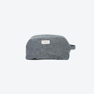 Hermel Toiletry Bag in Slate Grey