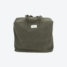 Elzevir Weekend Bag in Military Green