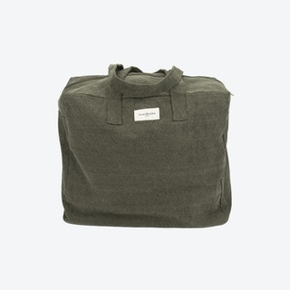 Elzevir Weekend Bag in Military Green