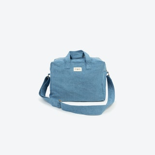 Sauval Bag in Stone Washed Denim
